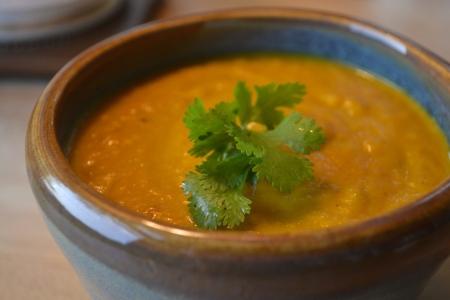 Creamy Coriander Carrot Soup